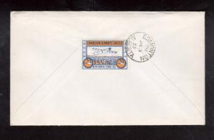 Canada #CL51 VF Used On Cover To Edmonton Alberta