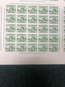 766 Pane Of 25 Mint Never Hinged