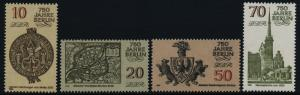 Germany GDR 2546-9 MNH Berlin City Seal, Crest, Nicholas Church