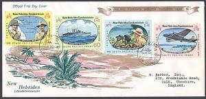 NEW HEBRIDES 1967 Pacific War Anniv FDC - FORARI cds.......................55034