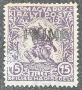 DYNAMITE Stamps: Fiume Scott #B2 – MINT