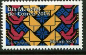MEXICO 2295, WORLD POST DAY. MINT, NH. VF.