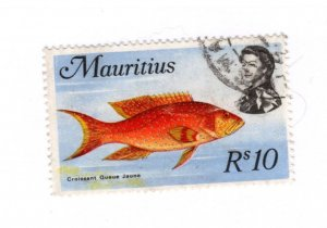Mauritius #356a Used - Stamp CAT VALUE $25.00