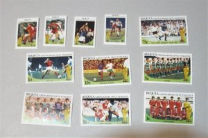 St. Vincent Bequia - 218-29. MNH Set. Soccer. SCV - $5.60 (See Below)