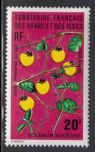 Afars & Issas 1974 MNH Scott #378 20fr Solanum adoense