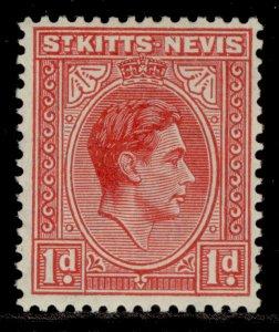 ST KITTS-NEVIS GVI SG69a, 1d carmine, NH MINT.