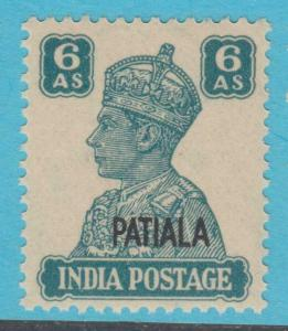 INDIA PATIALA 112 MINT NEVER HINGED OG * NO FAULTS EXTRA FINE !