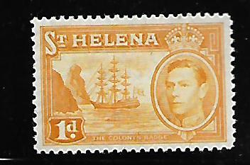 ST HELENA 119A MINT HING 1938-1940 ISSUE