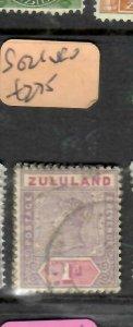 ZULULAND  (P2305B)  QV  1D  SG 21     VFU