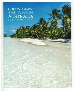 MCK95) Cocos Keeling Islands 2013 50 Years of Stamps + Sheetlet Stamp Pack MUH