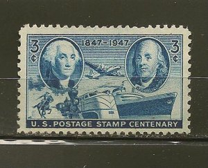 USA 947 Stamp Centennial Mint Hinged