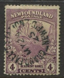 STAMP STATION PERTH:Newfoundland #119 Caribou 1919 Used CV$?