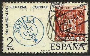 Spain 1974 Scott# 1806 Used
