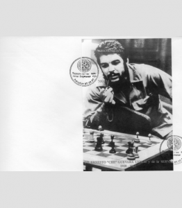 Turkmenistan 1997 CHE GUEVARA CHESS s/s Imperforated in FDC