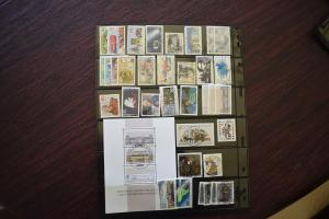 GERMANY COLLECTION 1986 YEAR SET  USED  CAT VALUE OVER 26.00