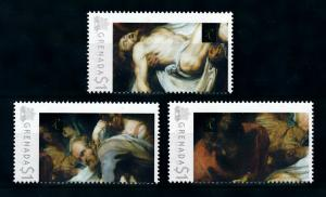 [100055] Grenada 2009 Art Painting Rubens The Entombment  MNH