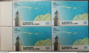 O) 2019 CUBA - CARIBBEAN, LIGHTHOUSE OF CASTILLO DEL MORRO, CARIBBEAN UNION