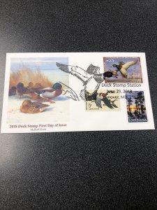 RW 85 Mallard Duck Stamp First Day Cover 2018