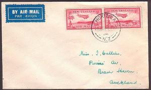 NEW ZEALAND 1937 First flight cover Hokitika to Auckland...................34885