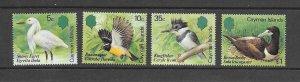 BIRDS - CAYMAN ISLANDS #528-31  MNH