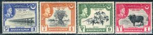 Pakistan Bahawalpur; 1949: Sc. # 22-25: */MH Cpl. Set