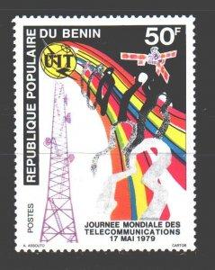 Benin. 1979. 180. Telecommunication satellite. MLH.