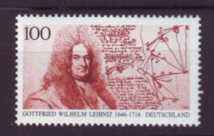 J18485 JLs stamps 1996 germany set of 1 mnh #1933 leibniz