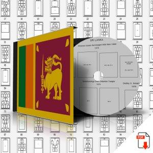 CEYLON + SRI LANKA STAMP ALBUM PAGES 1972-2011 (253 PDF digital pages)