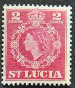 DYNAMITE Stamps: St. Lucia Scott #158 – MINT