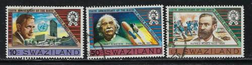 Swaziland 437-39 Used 1983 issues