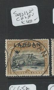 LABUAN (P2207B) 18C MOUNTAIN SG101 SON CDS  VFU