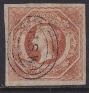 Australia - New South Wales 1854-1855 SC 31 Used