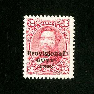 Hawaii Stamps # 66 Jumbo OG NH