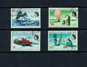 British Antarctic Territory:  1965 25th Anniversary Scientific Work, Fine used