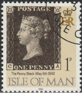 Isle Of Man, #422a Used From 1990