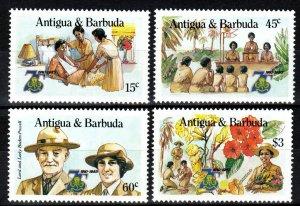 Antigua #881-4  MNH CV $7.85  (Z9991)