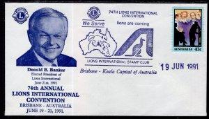 Australia Lion's Club 74th International Convention Brisbane 1991 Cover