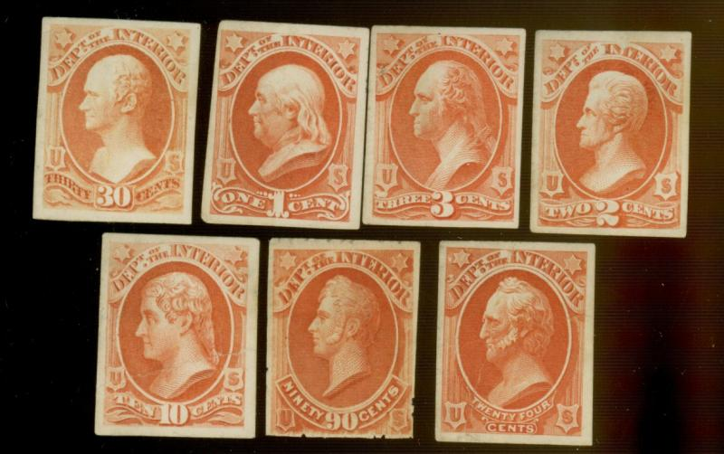 O15P4-17P4 O19P4 22P4-24P54 MINT Proofs F-VF O19P4 O22P4 Creased Cat$70