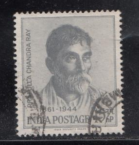 India  1961  # 343  P.C. Ray  Scientist   Used    01914