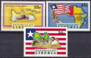 Liberia #1148-50  MNH CV $4.45 (A19194)