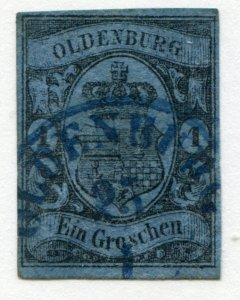 Oldenburg   Sc.# 6a  used   authenticated