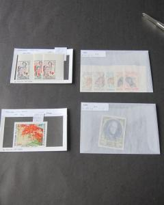 Laos Imperf. sets selected MNH OurRef.n552