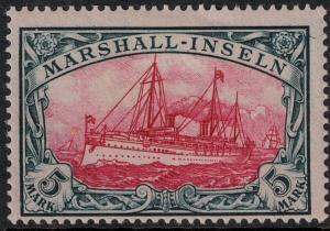 Marshall Islands SC 25 Mint 1901 SCV$ 140.00