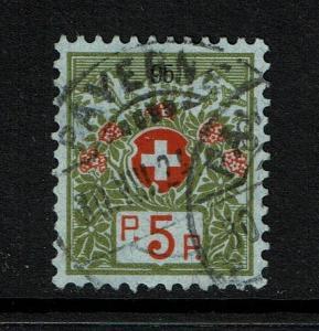 Switzerland - SC# S3a - Used - Lot 073017