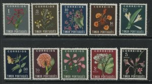 Timor set values to 5 patacas unmounted mint NH