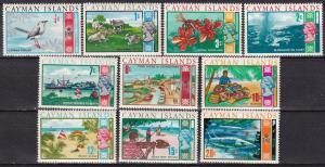 Cayman Islands #262-5, 268-73  CV $8.05  (A19915)