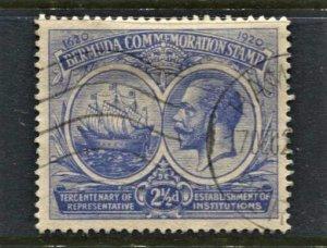 STAMP STATION PERTH Bermuda #68 KGV FU  Wmk.4 - CV$20.00