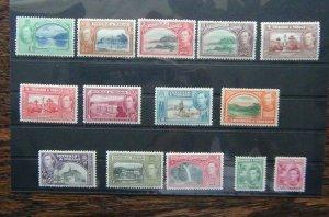 Trinidad & Tobago 1938 - 1944 set to $4.80 MM SG246 - SG256