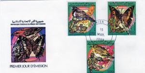 Comoro Islands 1989 Birds/Butterflies/Scouts Set(6) Perf.FDC
