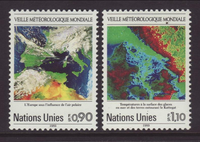 UN Geneva 176-177 Weather MNH VF